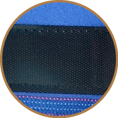 Detalle del microvelcro empleado en las Prendas Protectoras Veterinarias PPV